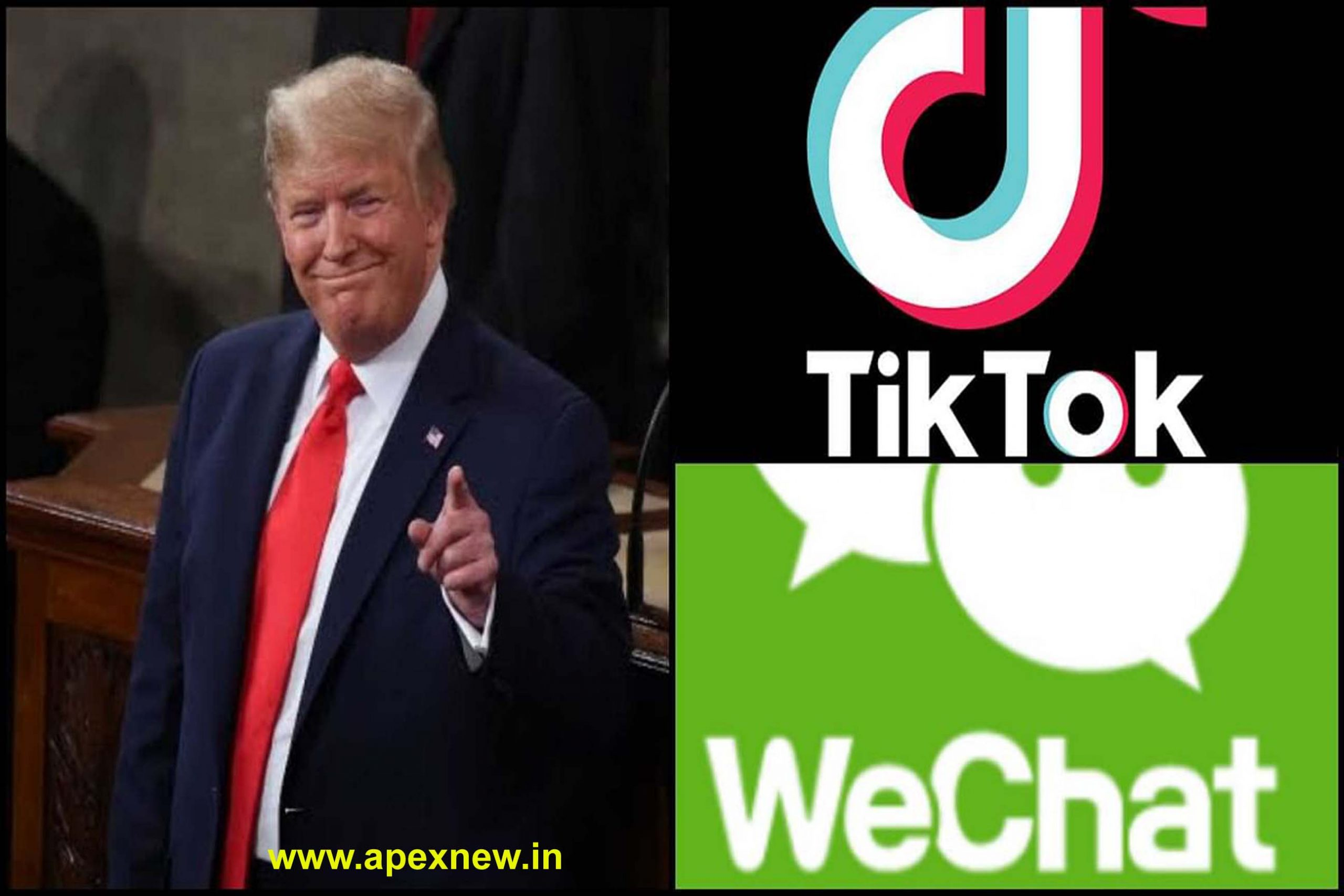 Tik tok and wechat are banned in America