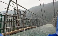 This is the first glass bridge made in India