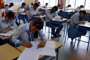 The central government decided on the tenth and twelfth class examinations