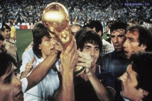 The late Italy's 1982 World Cup winner Paolo Rossi