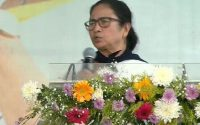 Mamata did not speak in protest after hearing the slogan 'Joy Sriram' in Victoria