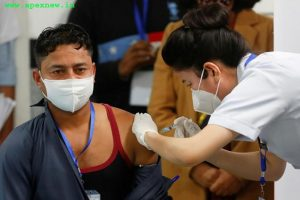 Manish Kumar took the first vaccine in the country