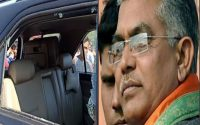 Dilip Ghosh's convoy was attacked on his way back from a meeting in Kochbihar