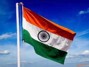 Birthday of the national flag of Indian pride