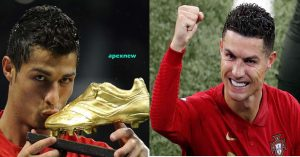 Ronaldo owns the golden boot in the Euro Cup